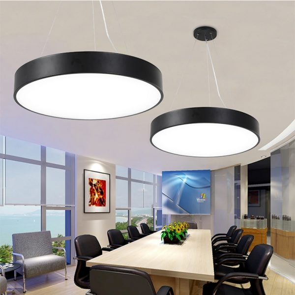 Round LED Panel Pendant Light 3
