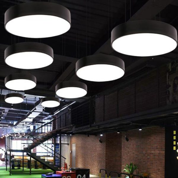Round LED Panel Pendant Light 5