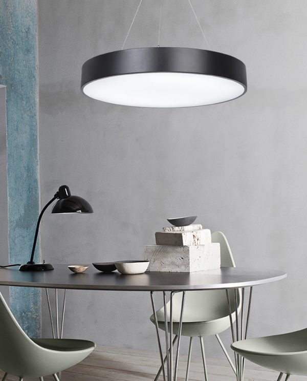 Round LED Panel Pendant Light 6