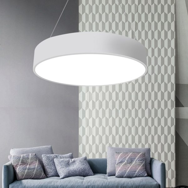 Round LED Panel Pendant Light 2