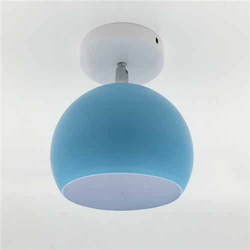 Macaroon multi-coloured retro rotatable lamp