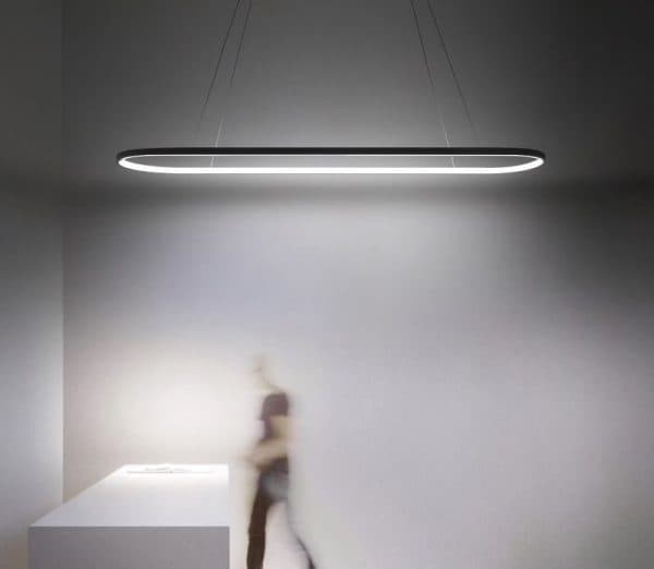 Ultra-Modern LED Pendant light with optional dimmable remote control 1