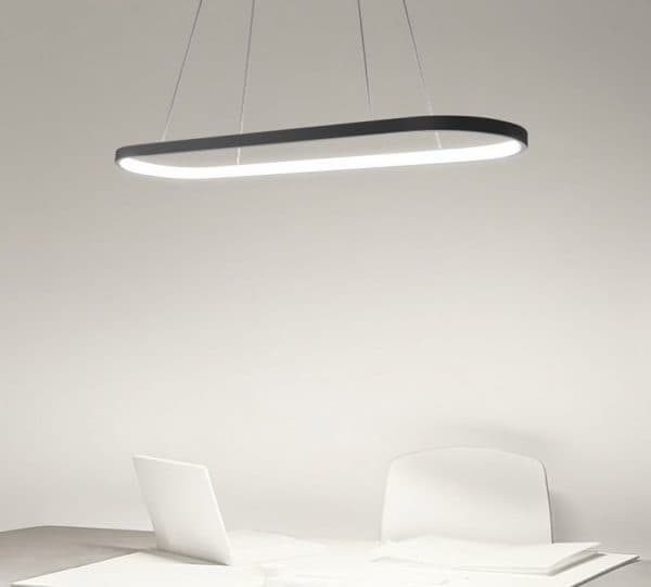 Ultra-Modern LED Pendant light with optional dimmable remote control 3