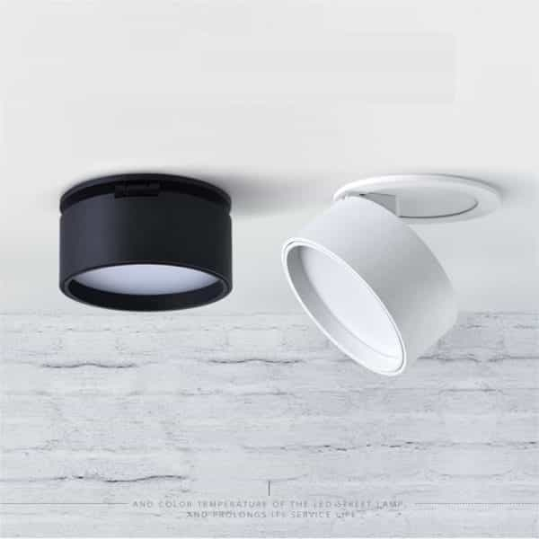 Super Sleek Foldable and Rotatable LED Ceiling Spotlight 1