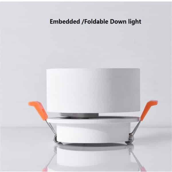 Super Sleek Foldable and Rotatable LED Ceiling Spotlight 5