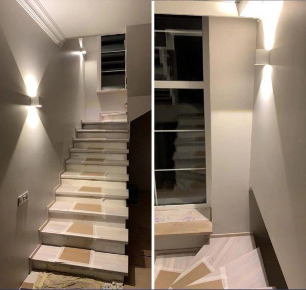 Adjustable Waterproof (IP65) LED Wall Lamp_Indoor