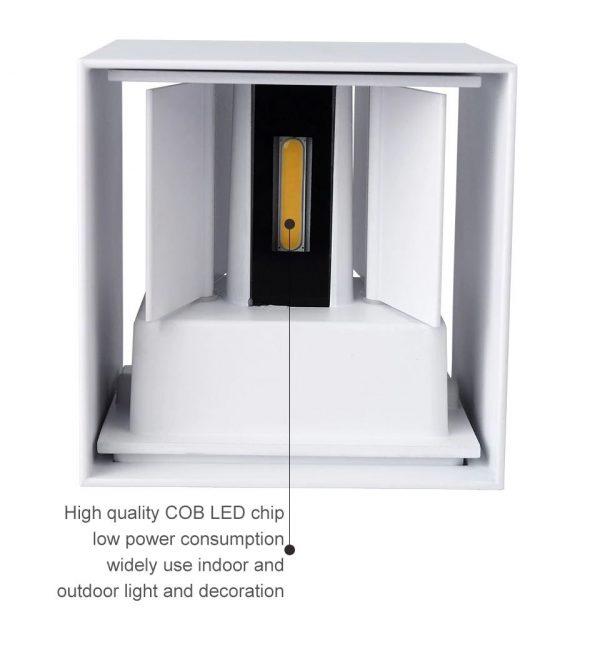 Adjustable Waterproof (IP65) LED Wall Lamp_LED