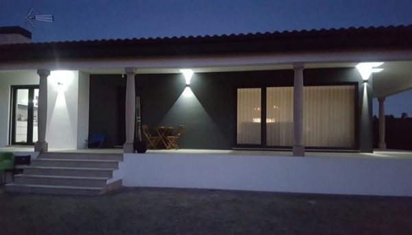 Adjustable Waterproof (IP65) LED Wall Lamp_Outdoor
