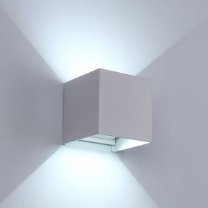 Adjustable Waterproof (IP65) LED Wall Lamp_White