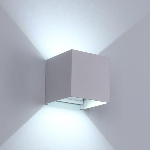 Adjustable Waterproof (IP65) LED Wall Lamp_White