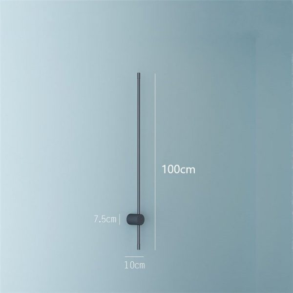Beautiful Minimalist Nordic Style LED Wall Lamp 100cm - CE Lighting