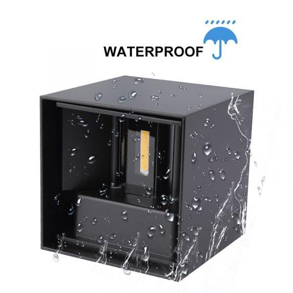 Adjustable Waterproof (IP65) LED Wall Lamp_Waterproof