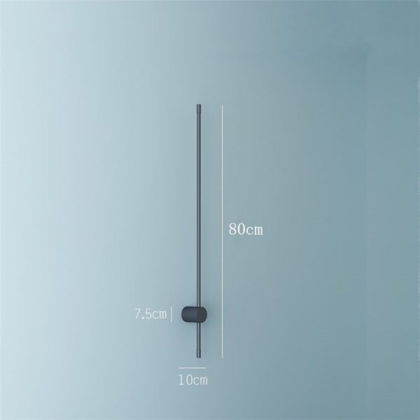 Beautiful Minimalist Nordic Style LED Wall Lamp 80cm - CE Lighting
